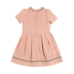 Marni Girls Silk Salmon Dress Girls Dresses Marni [Petit_New_York]