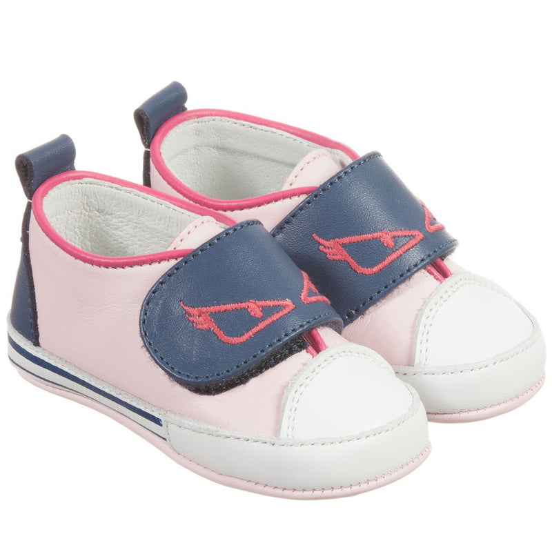 Fendi Baby Pink 'Monster' Shoes Baby Shoes Fendi [Petit_New_York]