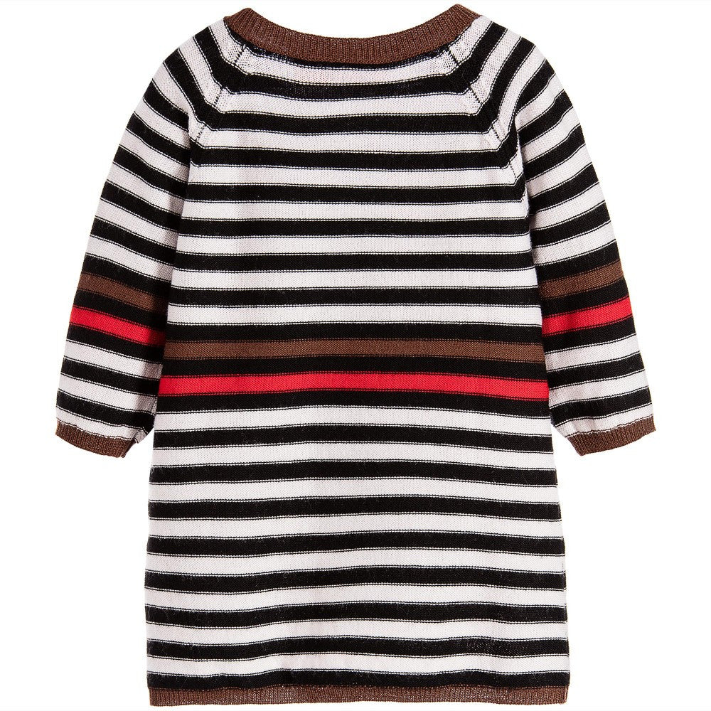 Sonia Rykiel Baby Girls Striped Knitted Dress Baby Dresses Rykiel Enfant [Petit_New_York]