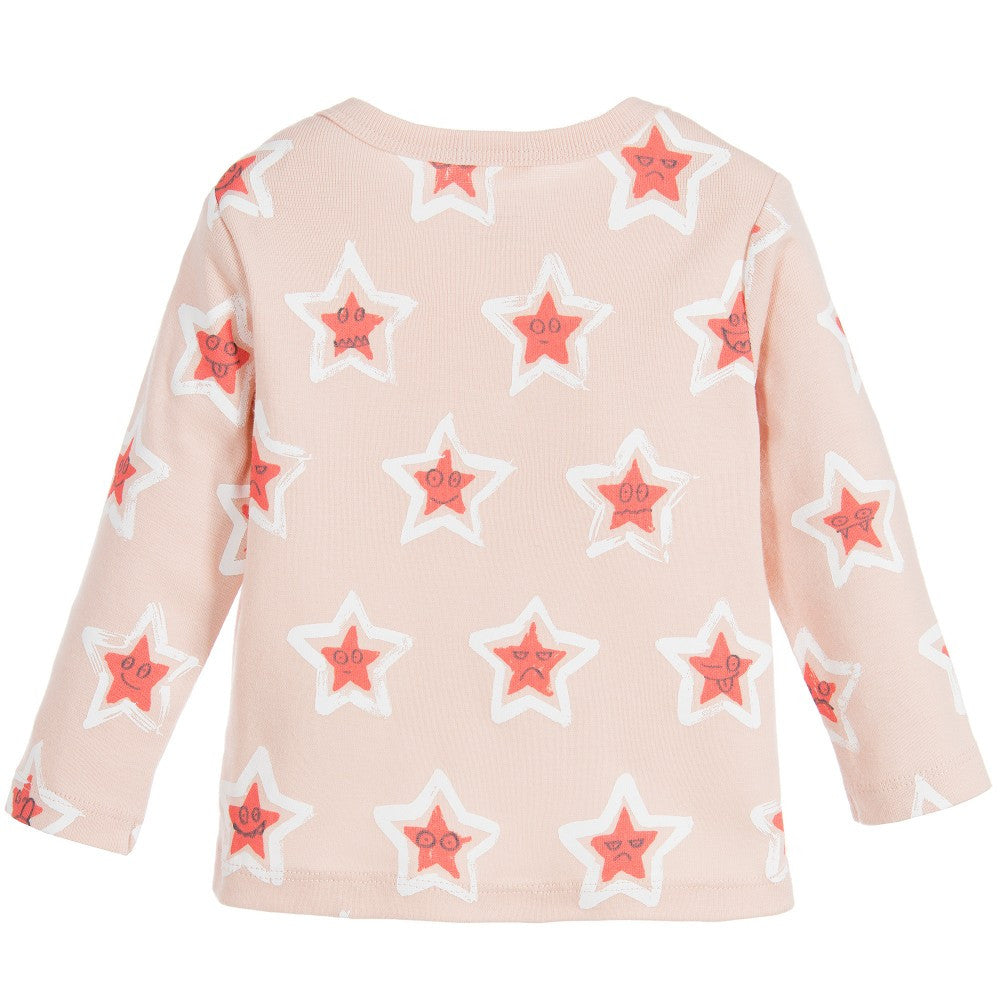 Stella McCartney Baby Girls Pink Stars Set Baby Sets & Suits Stella McCartney Kids [Petit_New_York]