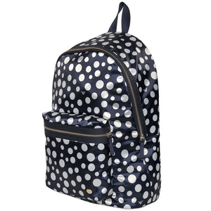 Armani Navy & White Polka Dot Backpack Accessories Armani Junior [Petit_New_York]