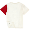 Stella McCartney Boys Red Sleeve T-shirt Boys T-shirts Stella McCartney Kids [Petit_New_York]