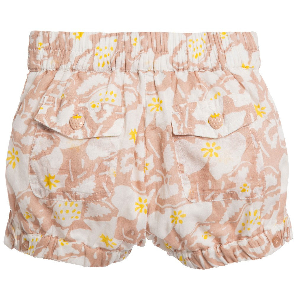 Stella McCartney Baby Girls Floral Shorts Baby Bottoms Stella McCartney Kids [Petit_New_York]