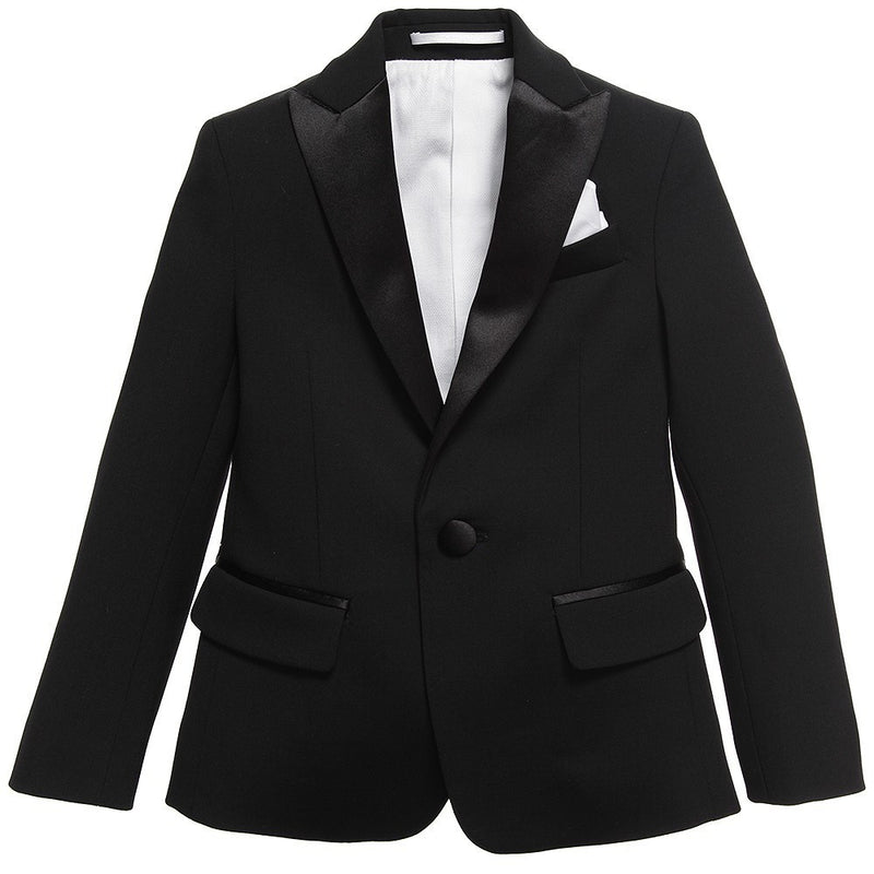 Dsquared2 Boys Tuxedo Blazer Boys Suits & Blazers Dsquared2 [Petit_New_York]