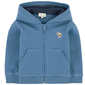 Paul Smith Baby Boys Blue Hoodie Baby Tops Paul Smith Junior [Petit_New_York]