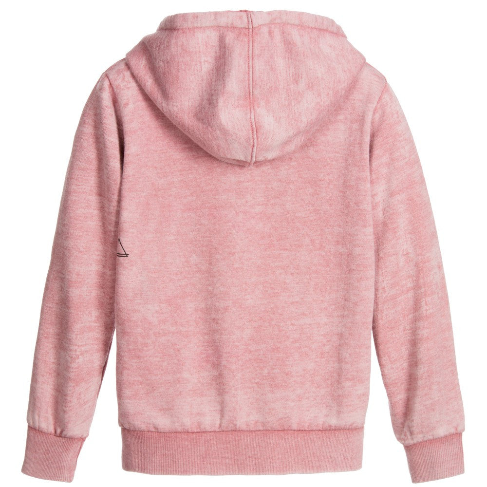 Eleven Paris Girls Pink Wonder 'Woman' Sweatshirt Girls Sweaters & Sweatshirts Little Eleven Paris [Petit_New_York]