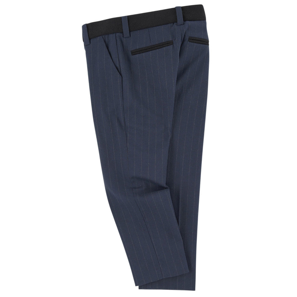 Little Marc Jacobs Navy Pinstriped Suit Pants Boys Pants Little Marc Jacobs [Petit_New_York]