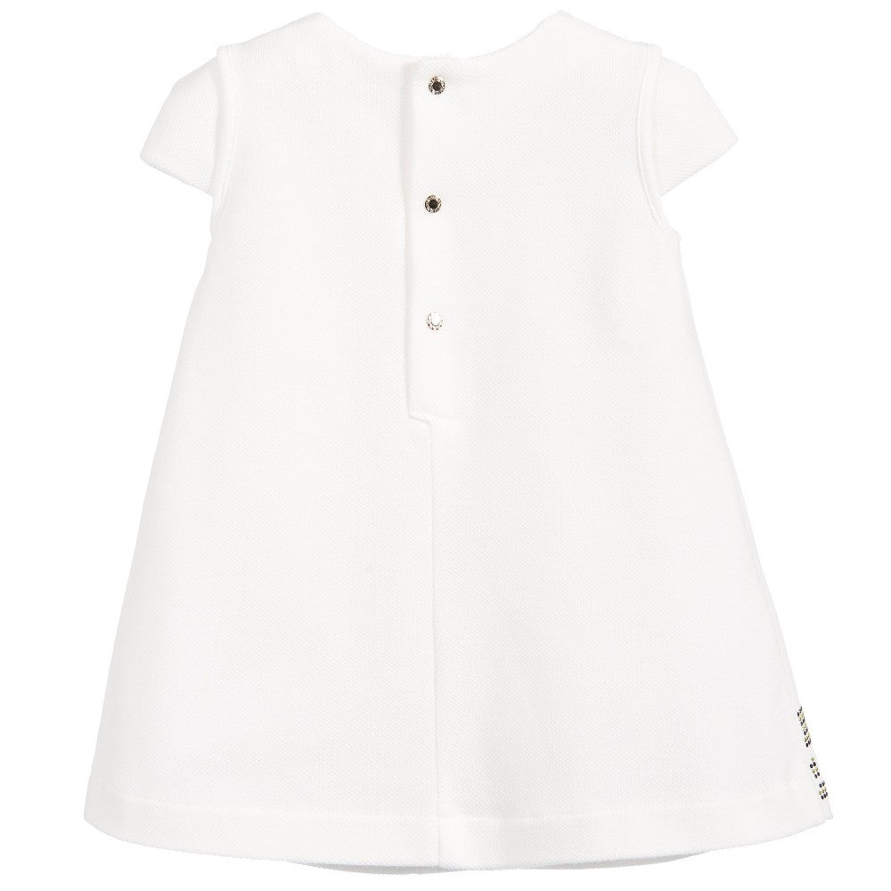 Versace Baby Girls Greca Dress Baby Dresses Young Versace [Petit_New_York]