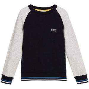 Hugo Boss Boys Knit Sweater Boys Sweaters & Sweatshirts Boss Hugo Boss [Petit_New_York]