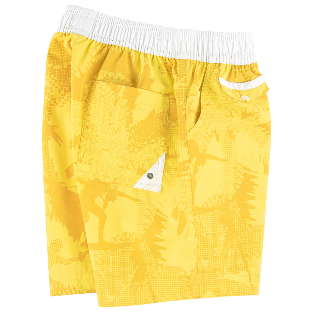 Hugo Boss Boys Yellow Swimshorts Boys Swimwear Boss Hugo Boss [Petit_New_York]