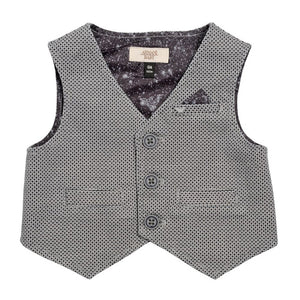 Armani Baby Boys Formal Grey Set Baby Sets & Suits Armani Junior [Petit_New_York]