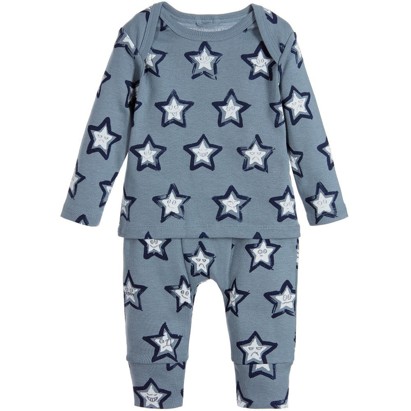 Stella McCartney Baby Grey-Blue Stars Set Baby Sets & Suits Stella McCartney Kids [Petit_New_York]