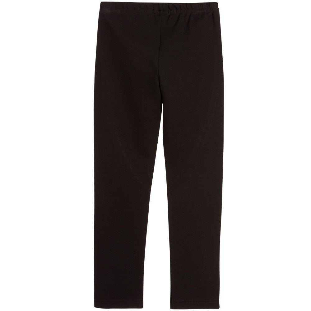 Junior Gaultier Girls Black Leggings Girls Leggings Junior Gaultier [Petit_New_York]