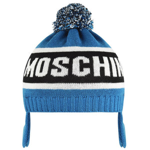 Moschino Baby Boys Knit Hat Baby Hats, Scarves & Gloves Moschino [Petit_New_York]