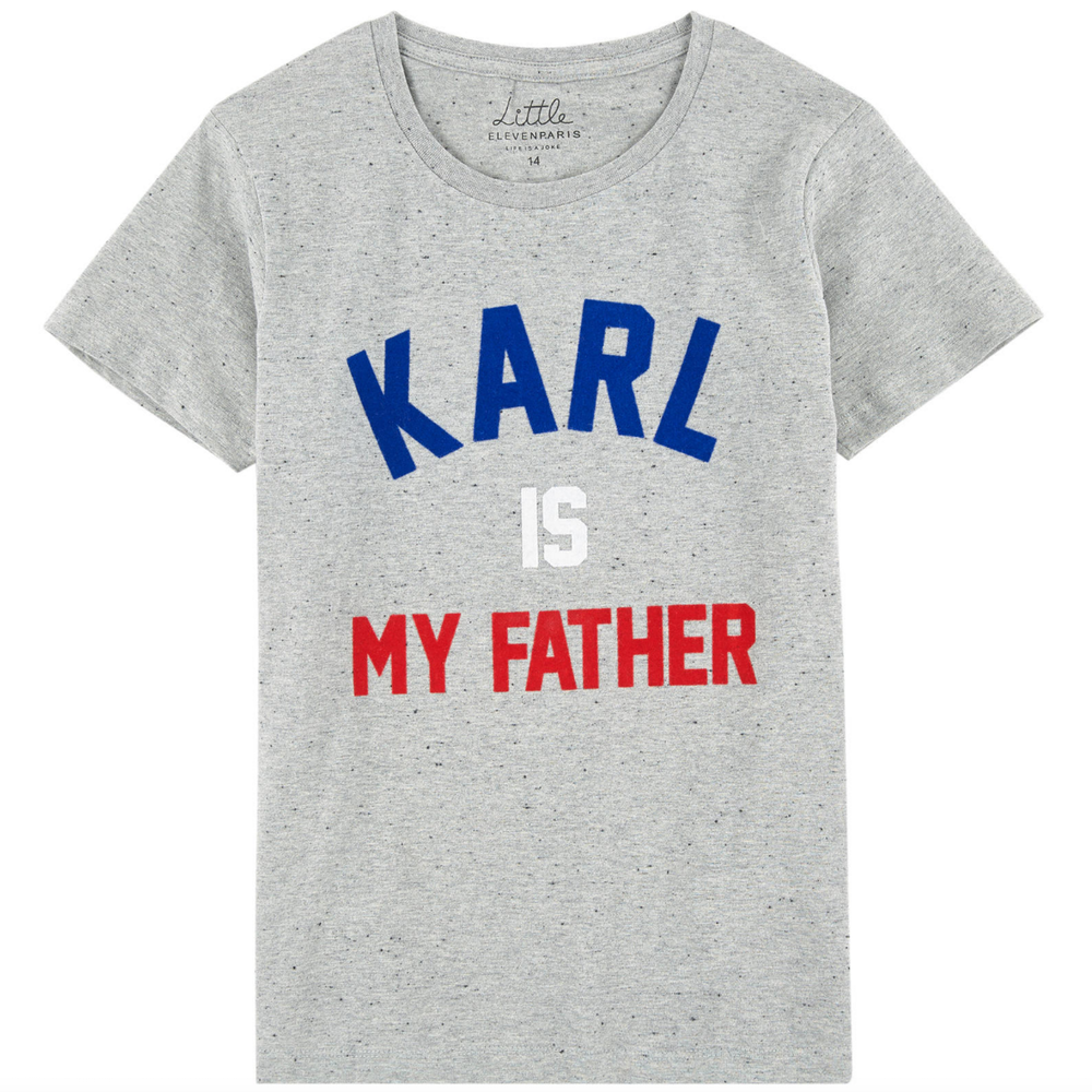 Eleven Paris Girls 'Karl' T-shirt Boys Shirts Little Eleven Paris [Petit_New_York]