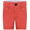 Hugo Boss Boys Red Bermuda Shorts Boys Shorts Boss Hugo Boss [Petit_New_York]