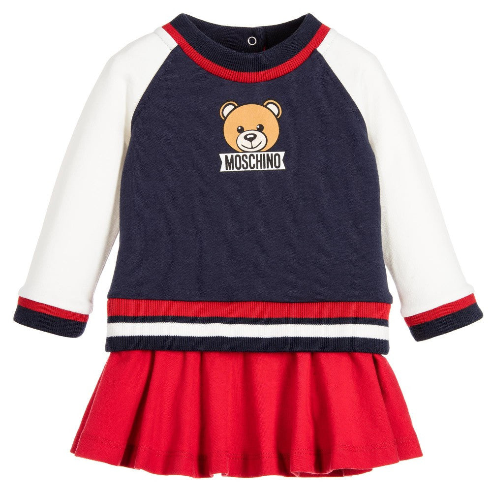 6158d4445 Moschino Baby Girls Teddybear Sweater-Dress – Petit New York