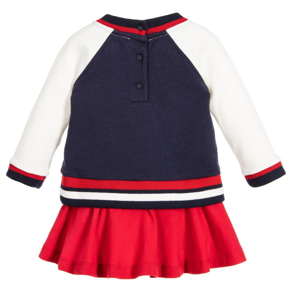 Moschino Baby Girls Sweater/Dress Baby Dresses Moschino [Petit_New_York]