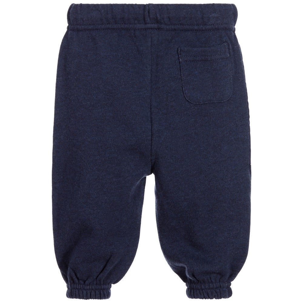 Stella McCartney Baby Navy Blue Sweatpants Baby Bottoms Stella McCartney Kids [Petit_New_York]