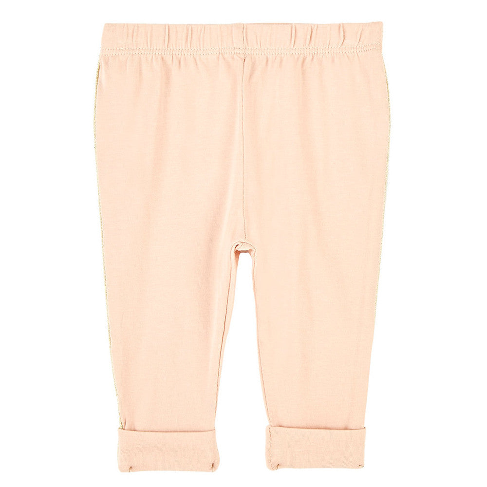 Chloe Baby Girls Pale Pink Leggings Baby Bottoms Chloé [Petit_New_York]