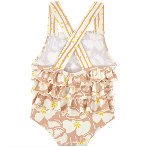 Stella McCartney Baby Girls Floral Swimsuit Baby Swimwear Stella McCartney Kids [Petit_New_York]