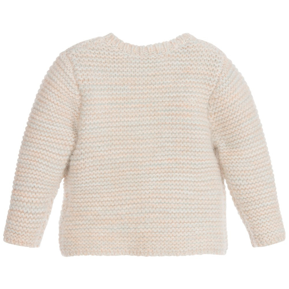 Chloe Baby Girls Knit Cardigan Baby Tops Chloé [Petit_New_York]