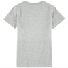 Eleven Paris Girls Grey 'Karl' Printed T-shirt Girls Tops Little Eleven Paris [Petit_New_York]