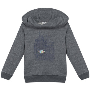 Paul Smith Boys Grey Hoodie Boys Sweaters & Sweatshirts Paul Smith Junior [Petit_New_York]