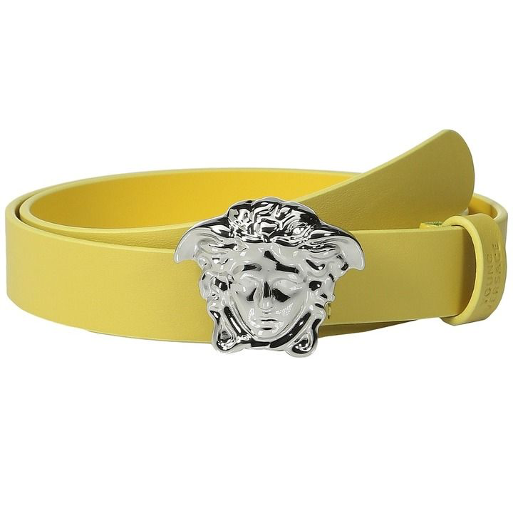 Versace Boys Medusa Leather Belt Accessories Young Versace [Petit_New_York]