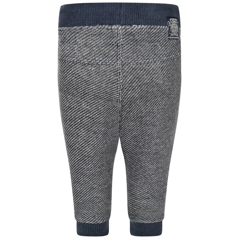 Hugo Boss Baby Boys Navy/Grey Sweatpants Baby Bottoms Boss Hugo Boss [Petit_New_York]
