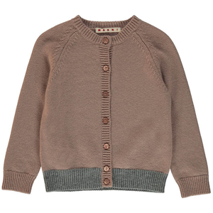 Marni Girls Cashmere Cardigan Girls Tops Marni [Petit_New_York]