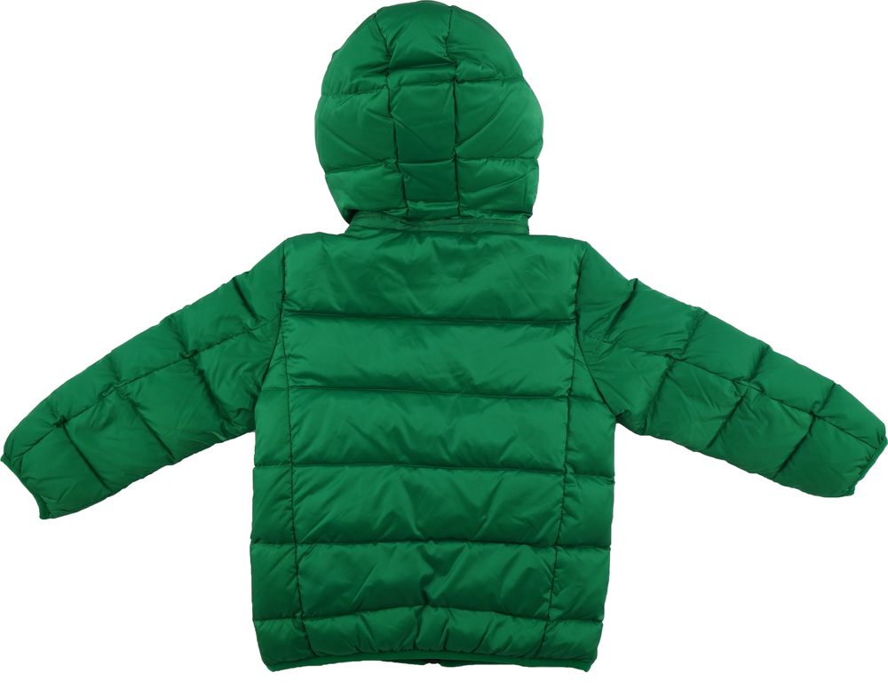 Armani Boys Green Puffer Jacket Boys Jackets & Coats Armani Junior [Petit_New_York]