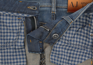 Armani Junior Boys Faded Blue Jeans Boys Pants Armani Junior [Petit_New_York]