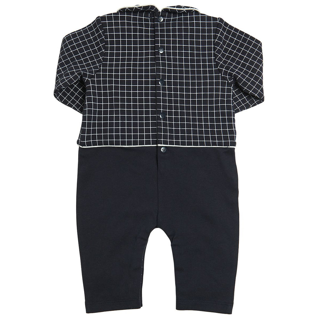 Armani Baby Boys Romper and Bib Gift Set Baby Rompers & Onesies Armani Junior [Petit_New_York]