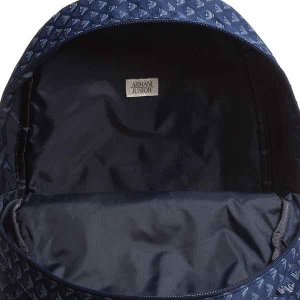 7da274fb9545 Armani Junior Blue Logo Backpack (Unisex) – Petit New York
