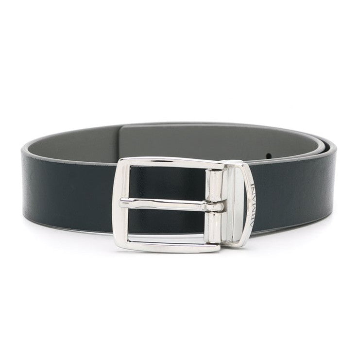 Armani Boys Black & Grey Reversible Belt Accessories Armani Junior [Petit_New_York]