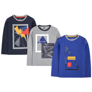 Armani Junior Boys 3-pack Printed T-shirts Boys T-shirts Armani Junior [Petit_New_York]