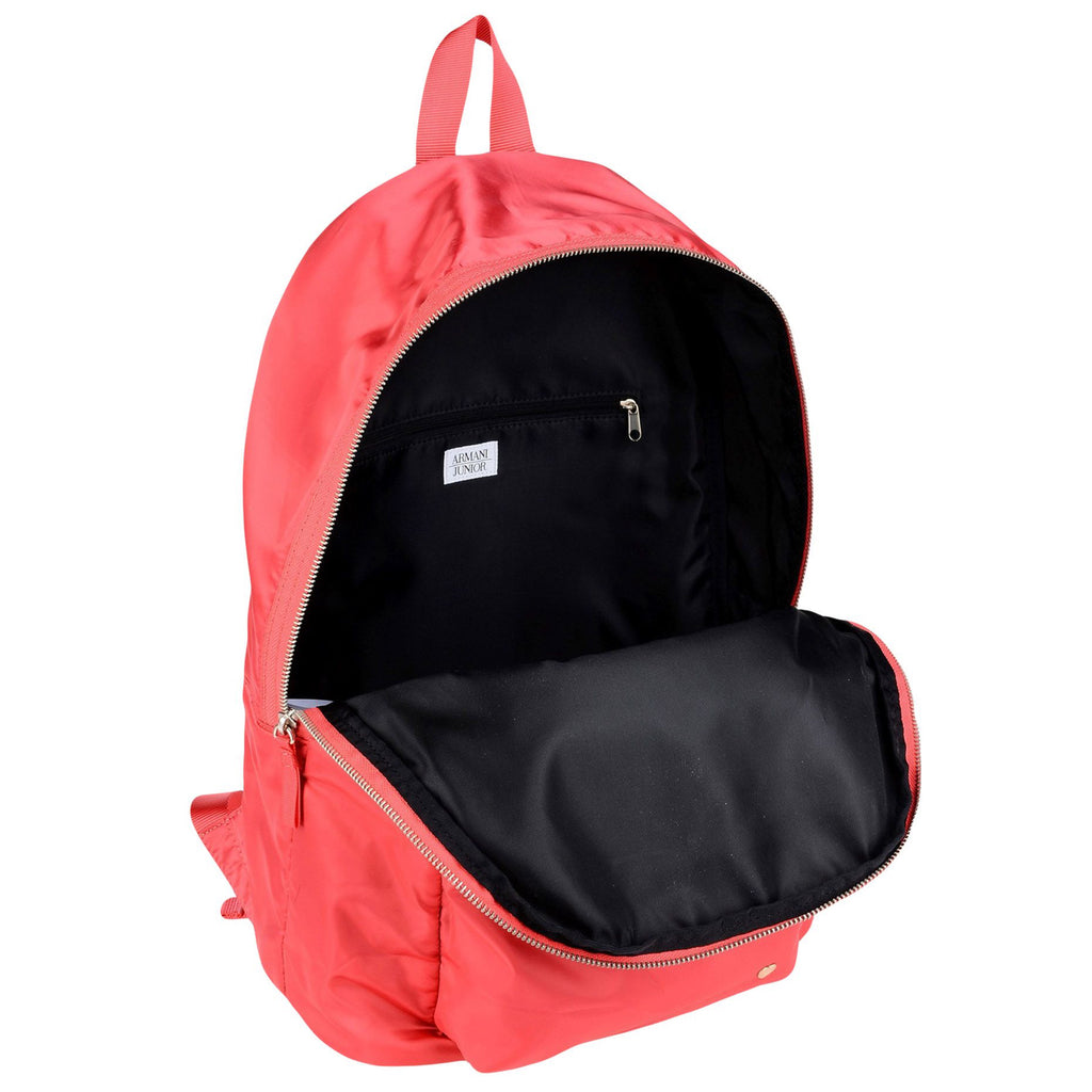 Sleek Red Backpack