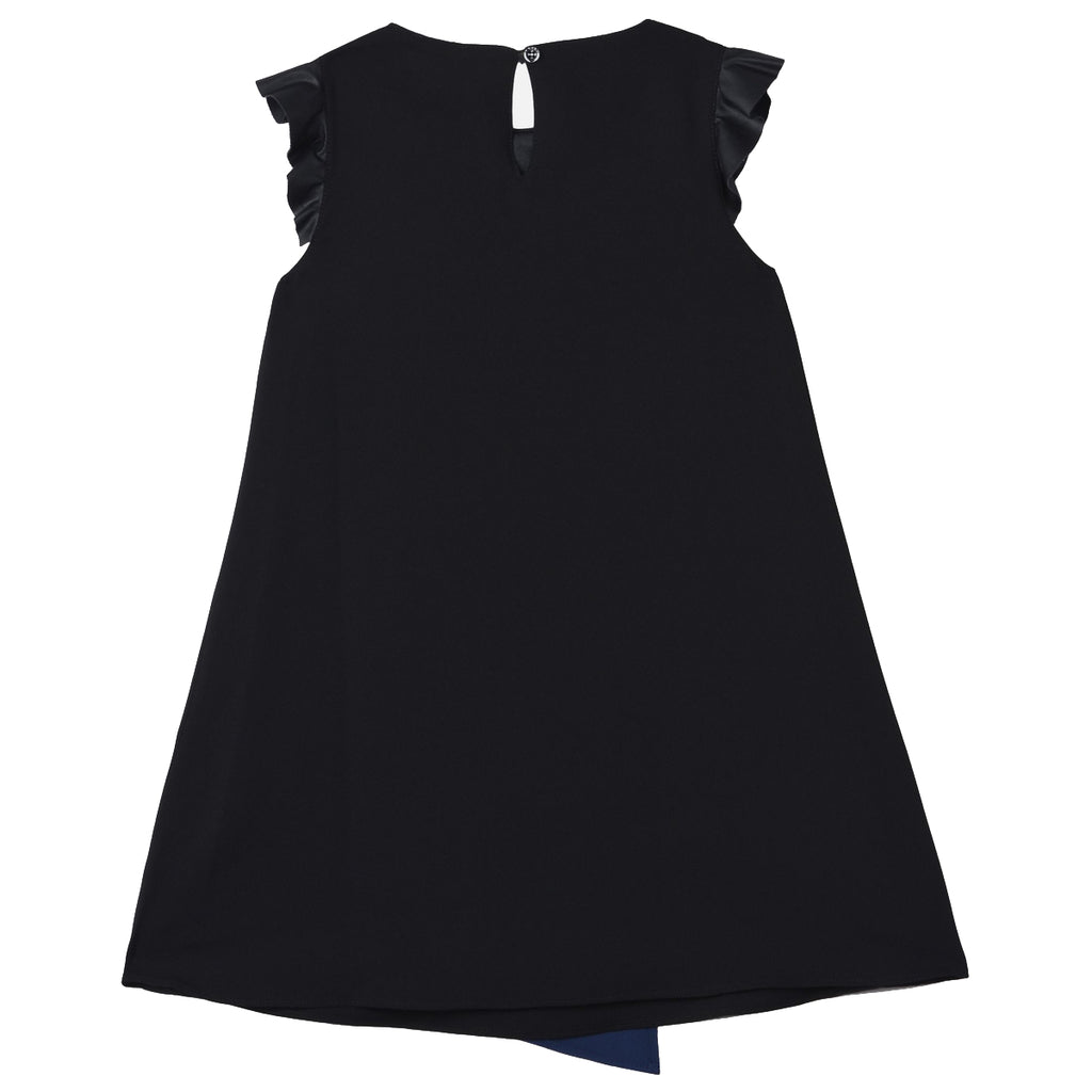 Armani Junior Girls Two-Tone Geometric Evening Dress Girls Dresses Armani Junior [Petit_New_York]