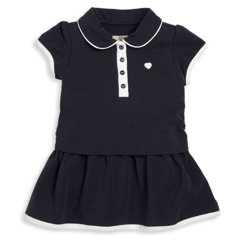 Armani Baby Girls Collared Dress Baby Dresses Armani Junior [Petit_New_York]