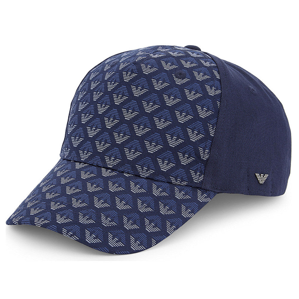 Armani Junior Boys Navy Logo Baseball Cap Boys Hats, Scarves & Gloves Armani Junior [Petit_New_York]