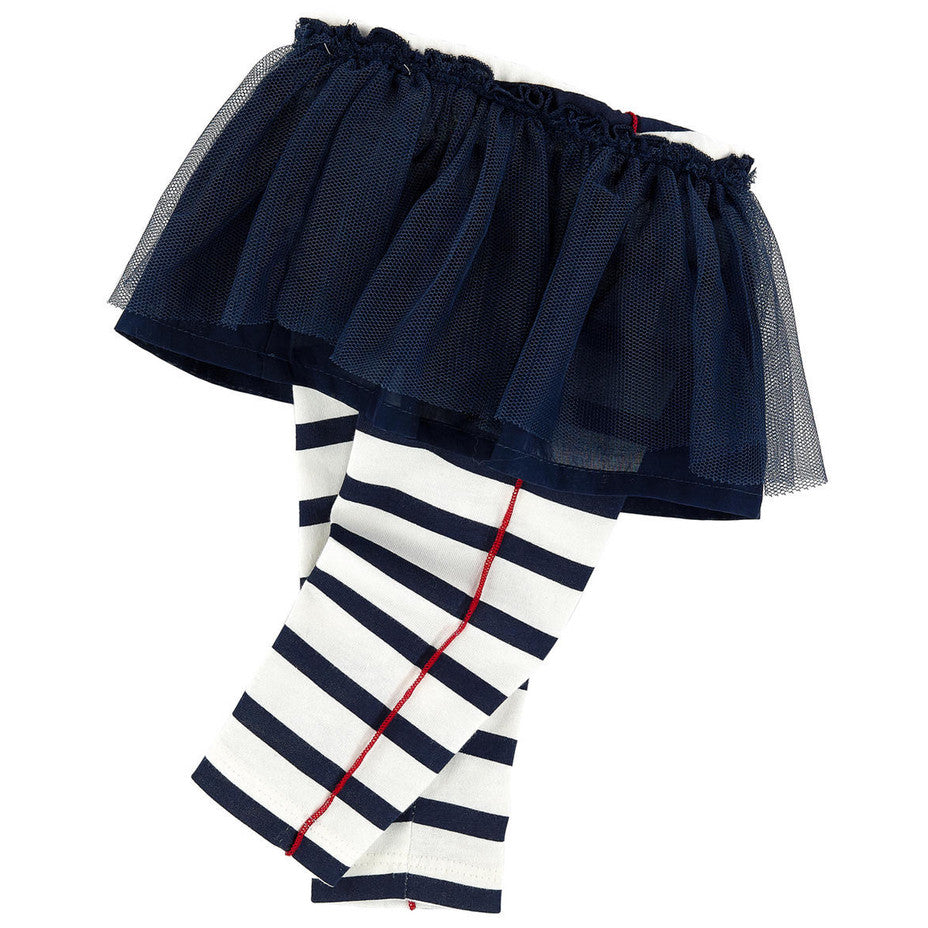 Junior Gaultier Baby Girls Tule Skirt with Attached Leggings Baby Bottoms Junior Gaultier [Petit_New_York]