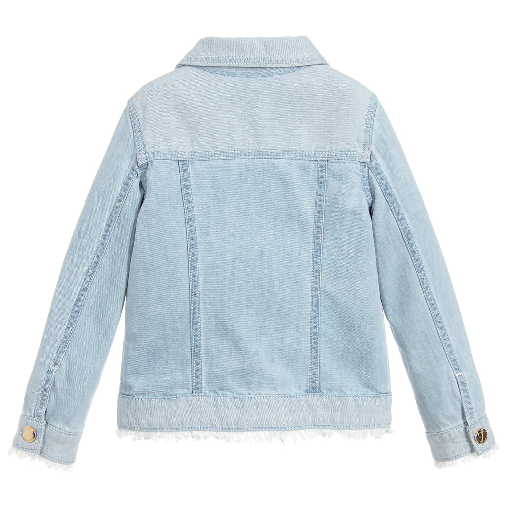 827a73c839082 Girls Light Blue Denim Jacket (Mini-Me)
