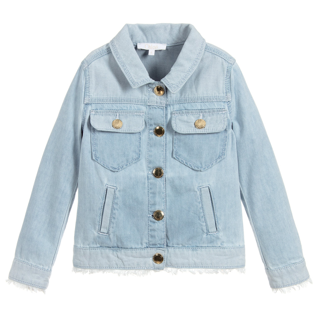 a81339a9d12 Girls Light Blue Denim Jacket (Mini-Me)