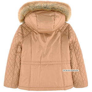Chloe Padded Short Cut Jacket (Mini-Me) Girls Jackets & Coats Chloé [Petit_New_York]