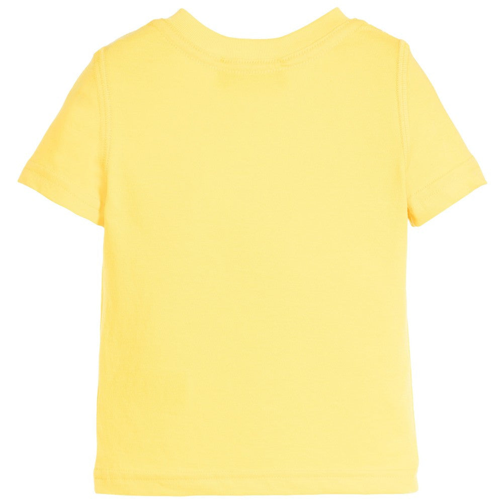 Dsquared2 Baby Boys Yellow Logo T-shirt Baby T-shirts Dsquared2 [Petit_New_York]