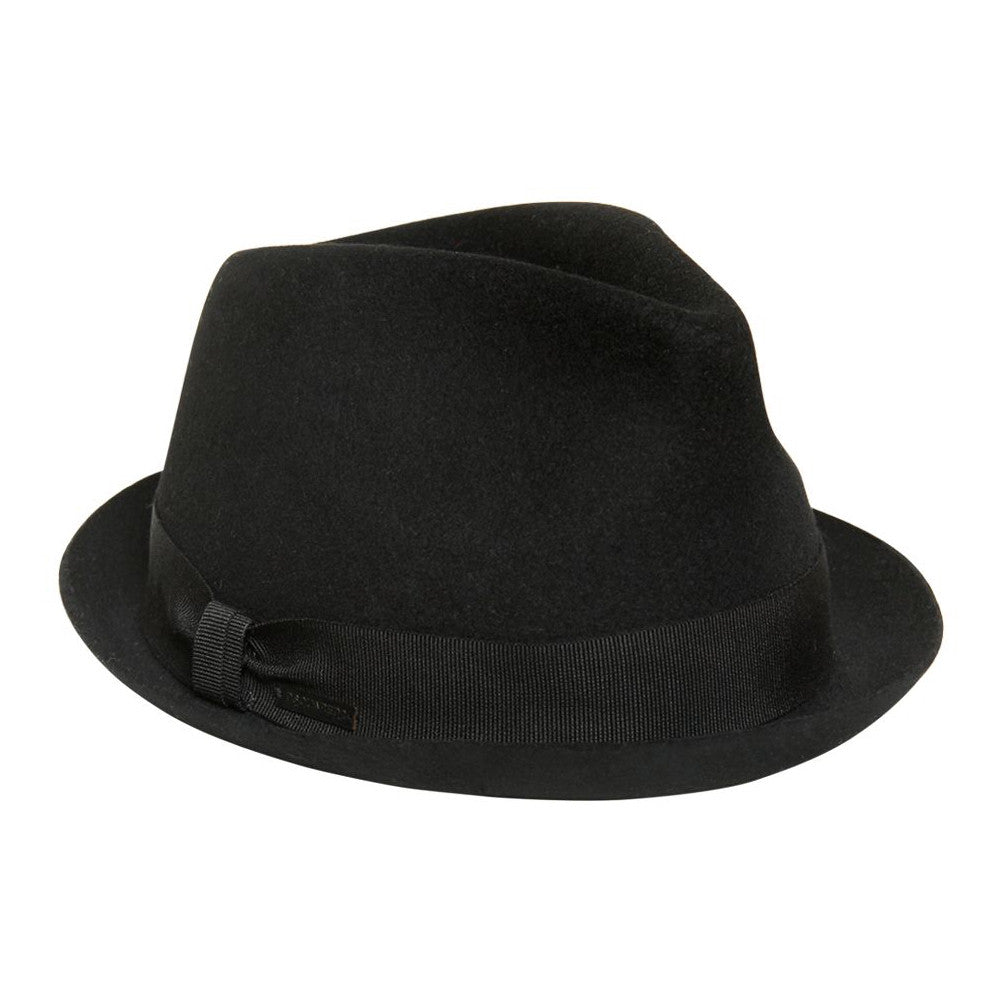 Dsquared2 Boys Black Wool Fedora Hat Boys Hats, Scarves & Gloves Dsquared2 [Petit_New_York]