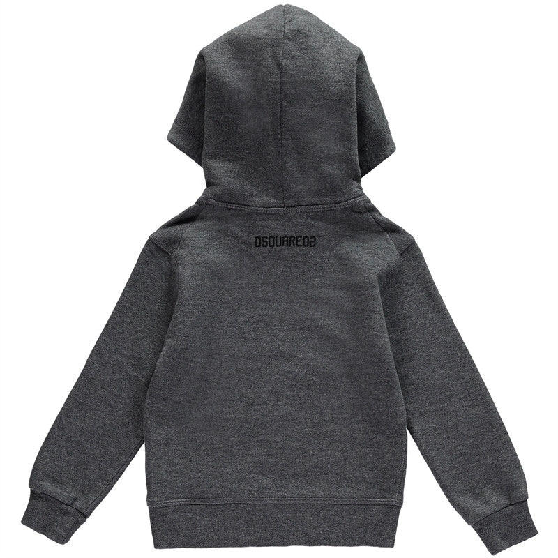 Dsquared2 Boys Grey 'Wild Thing' Sweatshirt Hoodie Boys Sweaters & Sweatshirts Dsquared2 [Petit_New_York]