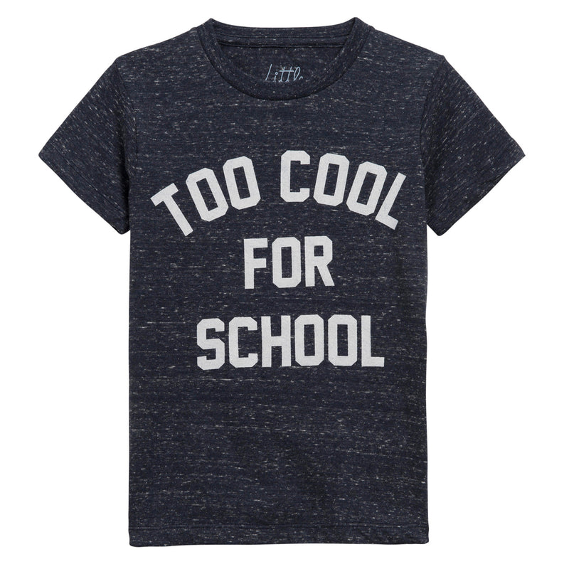 Eleven Paris Blue 'Too Cool for School' T-shirt (unisex)