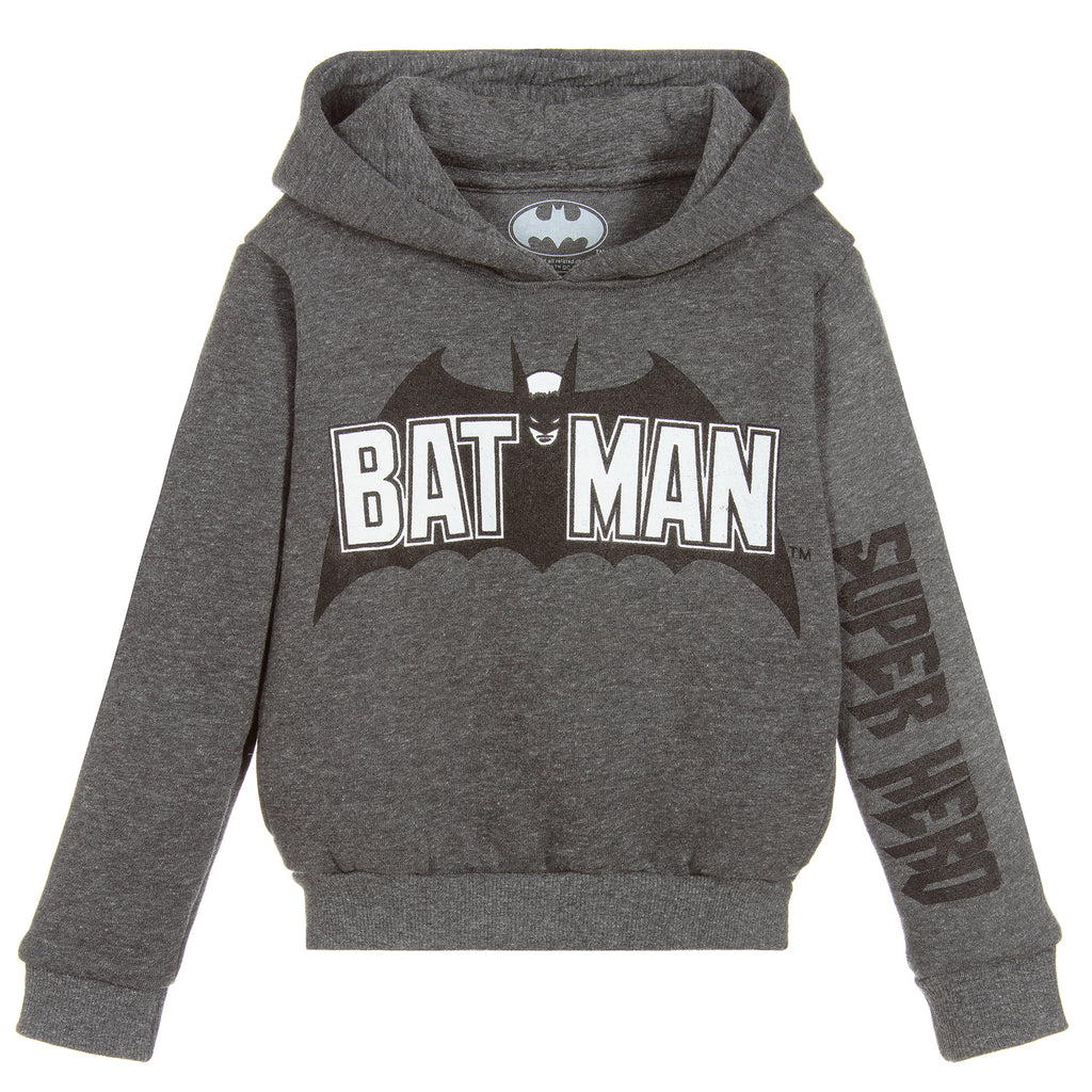 Eleven Paris Grey Batman Sweatshirt Hoodie (unisex)